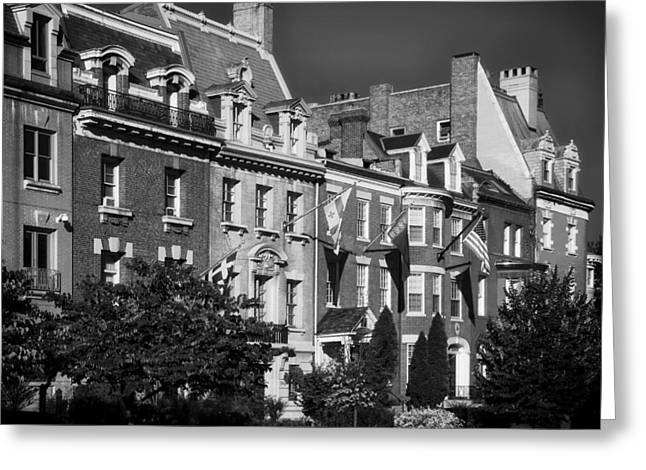 Representative Greeting Cards - Embassy Row Greeting Card by Mountain Dreams