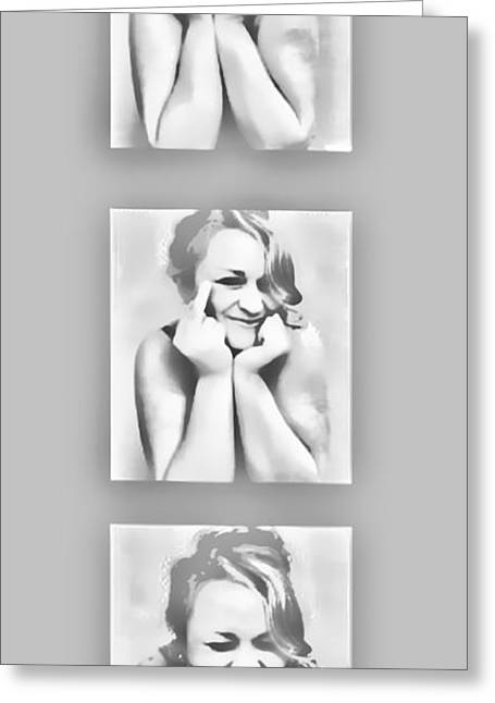 Emotions Greeting Card by Kristie  Bonnewell
