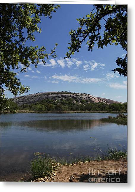 Tor Greeting Cards - Enchanted Rock Greeting Card by Gregory G. Dimijian