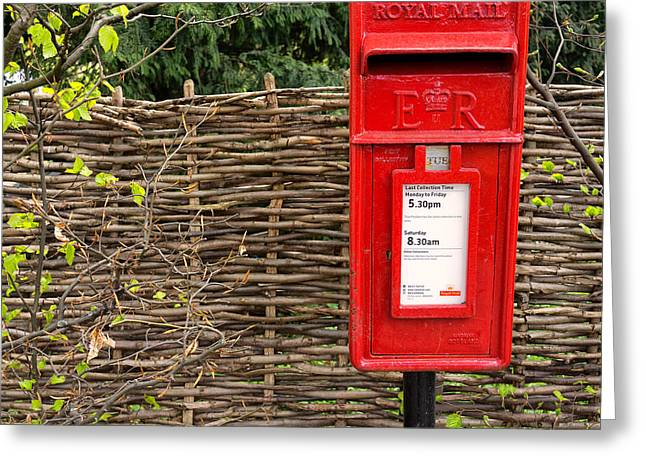 Niel Morley Greeting Cards - England Greeting Card by Niel Morley