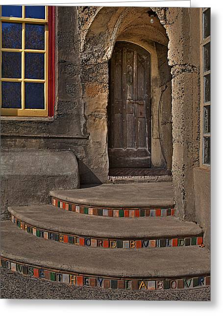 Byzantine Greeting Cards - Entrance Greeting Card by Susan Candelario