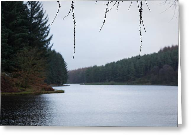 Cold Greeting Cards - Entwistle Lodge. Greeting Card by Daniel Kay
