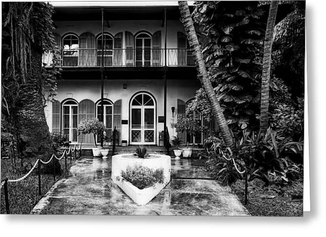 Florida House Greeting Cards - Ernest Hemingway Home Greeting Card by Mountain Dreams