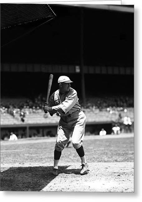 Baseball Uniform Greeting Cards - Ernest L. Tex Vache Greeting Card by Retro Images Archive
