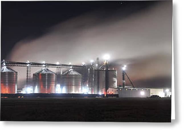Processor Greeting Cards - Ethanol plant in Watertown Greeting Card by Dung Ma