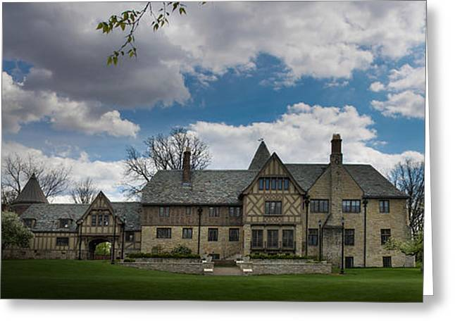 Ewing Greeting Cards - Ewing Manor Greeting Card by Brad Basham