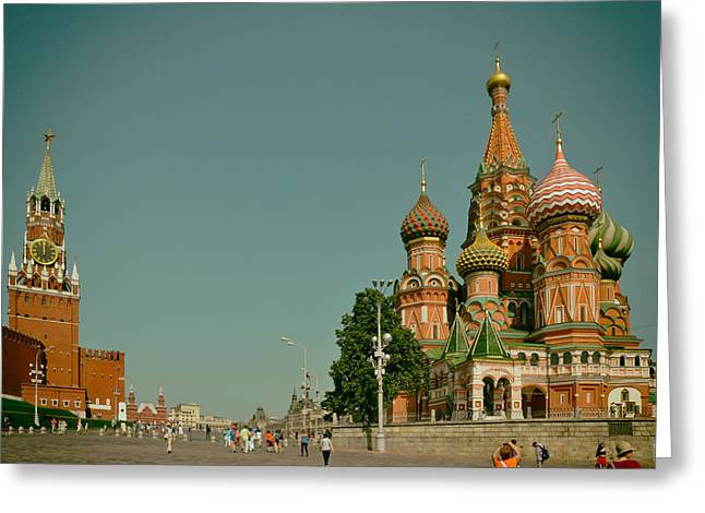 Taking Photographs Greeting Cards - Exploring Moscow Greeting Card by Mountain Dreams