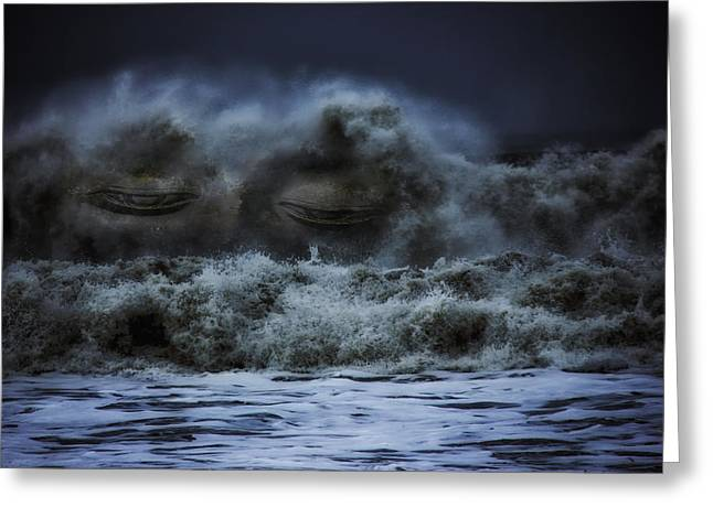 Seaside Digital Greeting Cards - Eyes of the Sea Greeting Card by Mountain Dreams