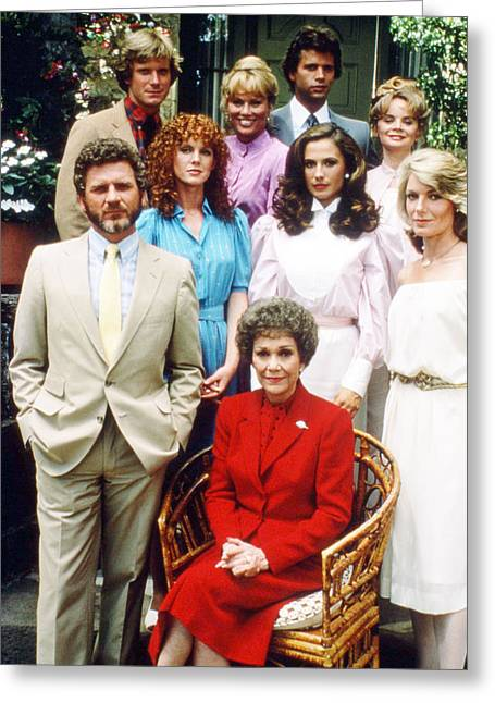 Robert R Greeting Cards - Falcon Crest  Greeting Card by Silver Screen