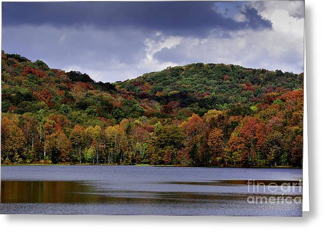Allegheny Greeting Cards - Fall Color Summit Lake Greeting Card by Thomas R Fletcher