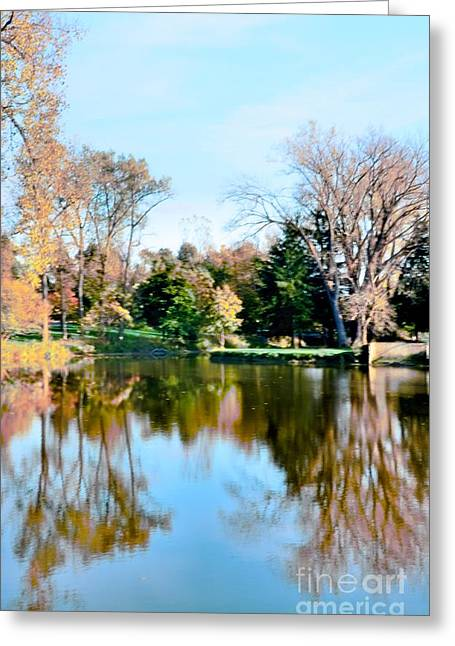 Struckle Greeting Cards - Fall Day Greeting Card by Kathleen Struckle