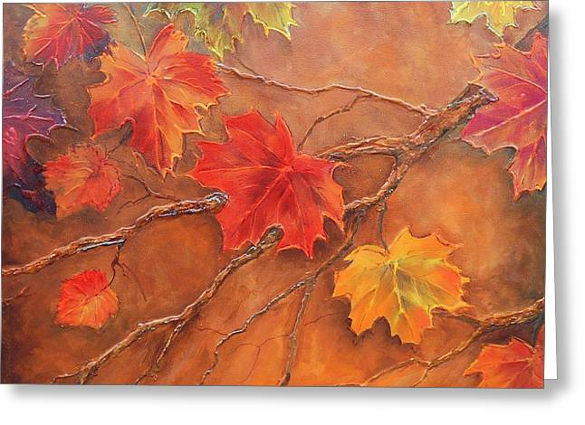 Fall Festival  #  031 Greeting Card by Frederick  Skidmore