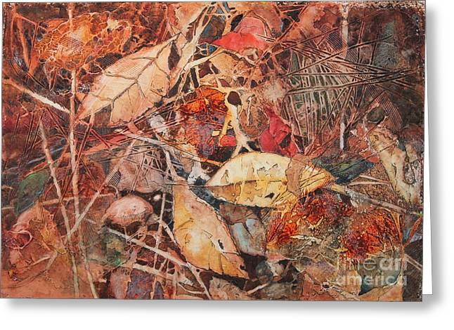 Elizabeth Carr Greeting Cards - Fallen Greeting Card by Elizabeth Carr