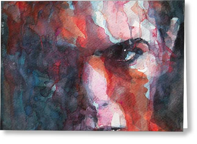 Fame Greeting Card by Paul Lovering