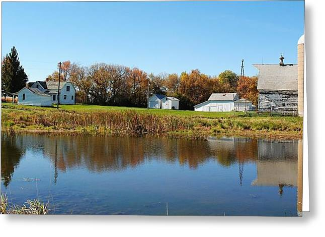 Family farm Greeting Card by Todd and candice Dailey