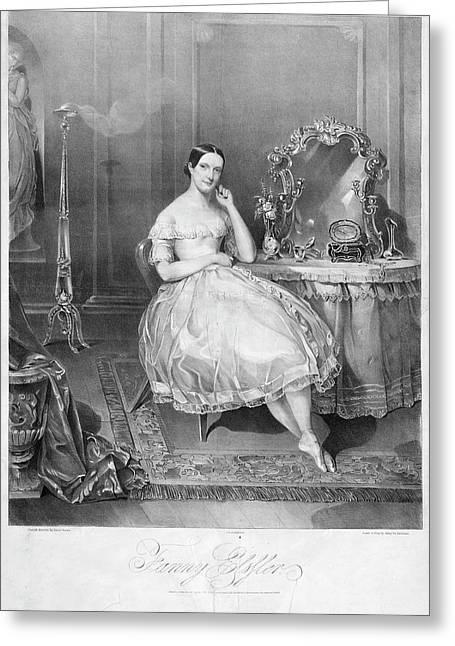 Fanny Elssler (1810-1884) Greeting Card by Granger