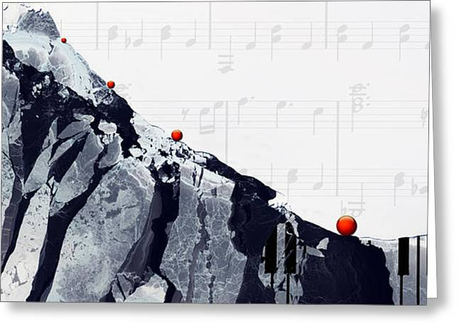 Artist Photographs Greeting Cards - Fantasia - Piano Art By Sharon Cummings Greeting Card by Sharon Cummings