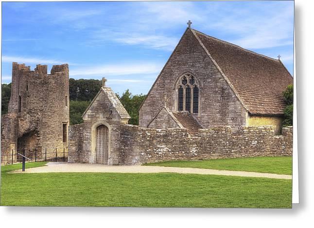 Farleigh Hungerford Castle Greeting Card by Joana Kruse