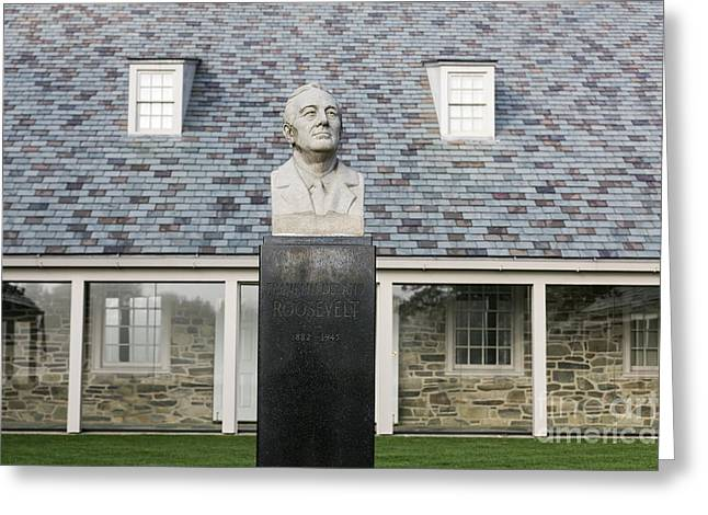 Franklin D. Greeting Cards - FDR Presidential Library Greeting Card by John Greim