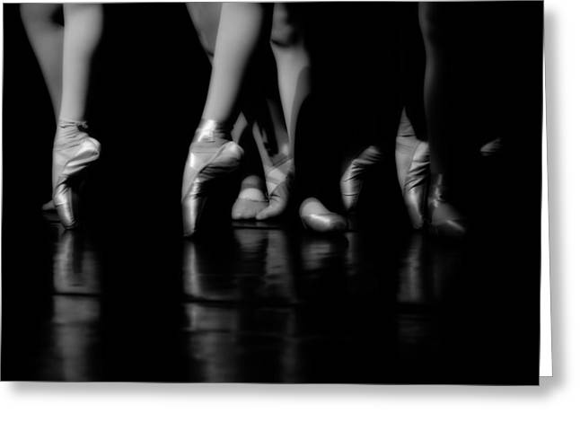 Stage Lights Greeting Cards - Feet of Grace Greeting Card by Mountain Dreams