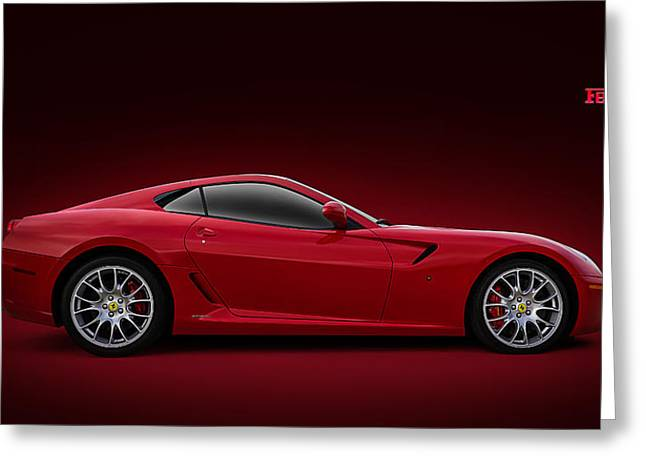 Car Shows Greeting Cards - Ferrari 599 GTB Greeting Card by Douglas Pittman
