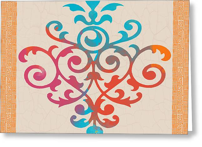 Mexican Fiesta Greeting Cards - Fiesta Fun-F Greeting Card by Jean Plout