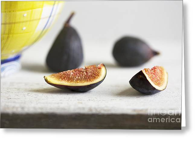 Anti Greeting Cards - Figs Greeting Card by Elena Nosyreva