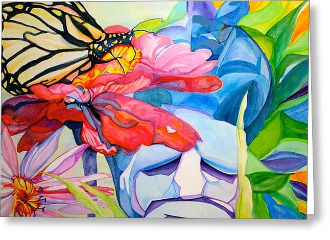 Garden Statuary Greeting Cards - Fiji Dreams Greeting Card by Anna Porter