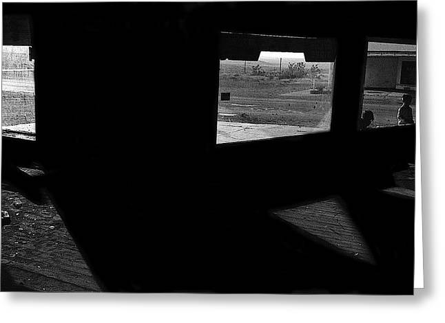 Lorre Greeting Cards - Film Noir Peter Lorre Fritz Lang M 1931 Ghost Town Magdalena New Mexico 1971-2008 Greeting Card by David Lee Guss