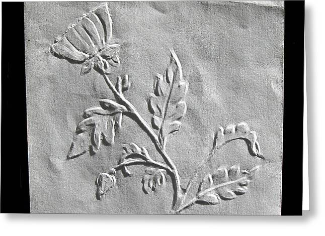 Drawing Reliefs Greeting Cards - Fingernail Relief Drawing Greeting Card by Suhas Tavkar