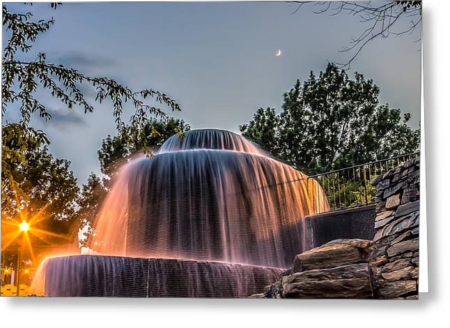 Garden Scene Digital Greeting Cards - Finlay Park Greeting Card by Rob Sellers