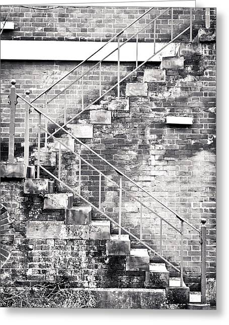 High Park Fire Greeting Cards - Fire escape Greeting Card by Tom Gowanlock