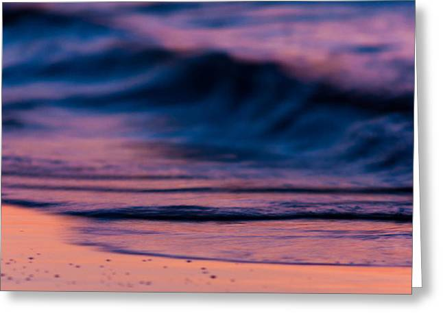 Ocean Panorama Greeting Cards - Fire Water Greeting Card by Matt Dobson