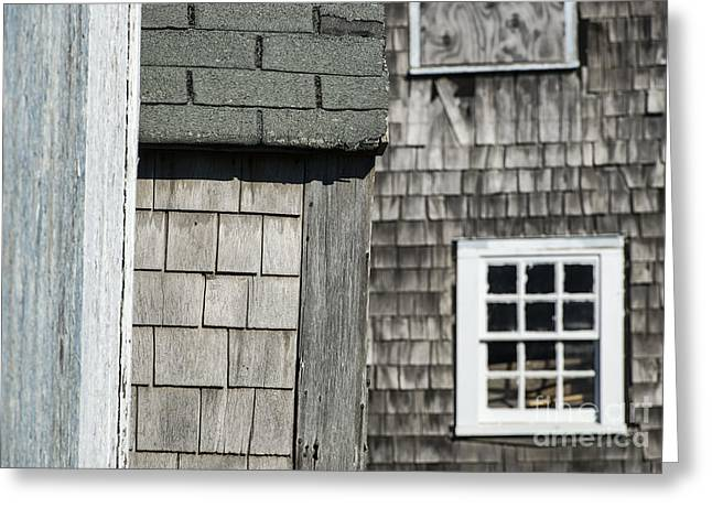 New England Village Greeting Cards - Fishermans Shack  Greeting Card by John Greim