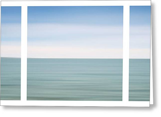 Limitless Greeting Cards - Fishers Island Sound Greeting Card by Sabine Jacobs