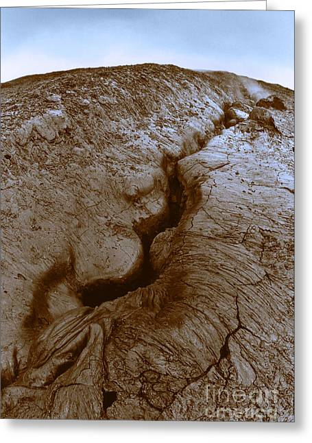 Fissure Greeting Cards - Fissures Greeting Card by Joe Munroe