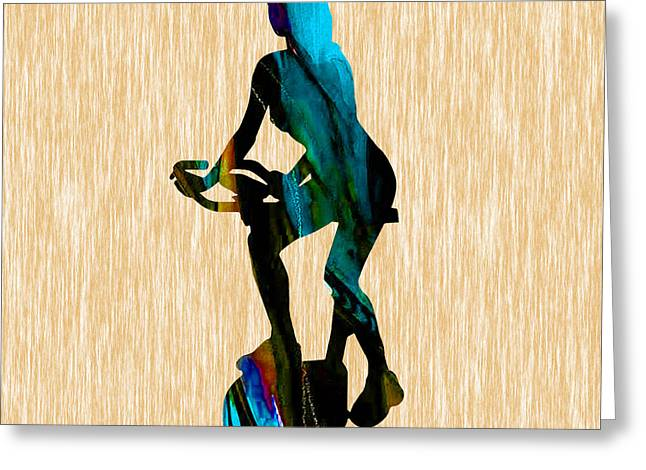 Fit Greeting Cards - Fitness Greeting Card by Marvin Blaine
