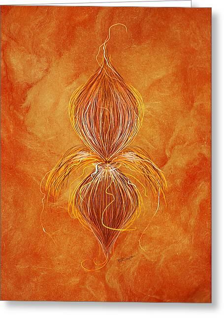 Bryant Greeting Cards - Fleur de lys Greeting Card by Brenda Bryant