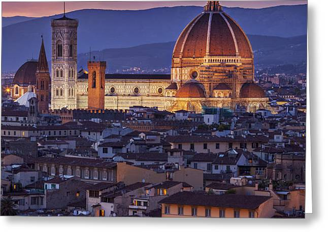 Florence Duomo Greeting Card by Brian Jannsen