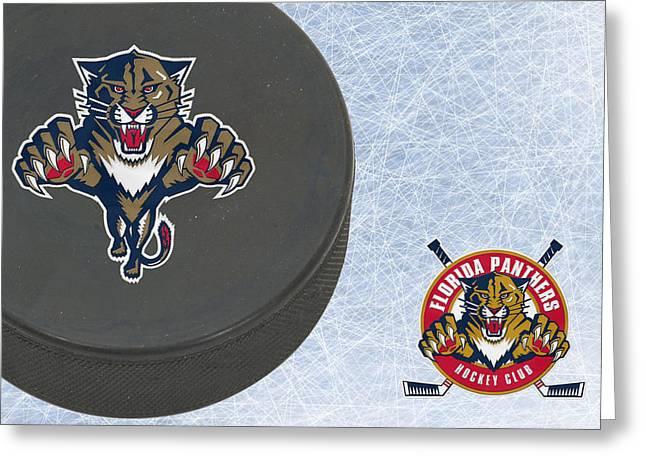 Panther Photographs Greeting Cards - Florida Panthers Greeting Card by Joe Hamilton