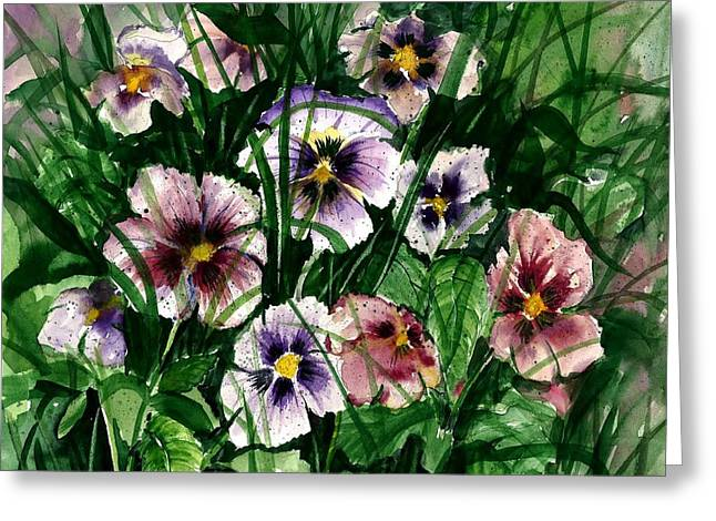 Award Winning Floral Art Greeting Cards - Flower Study I Greeting Card by Steven Schultz