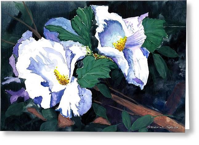 Award Winning Floral Art Greeting Cards - Flower Study II Greeting Card by Steven Schultz