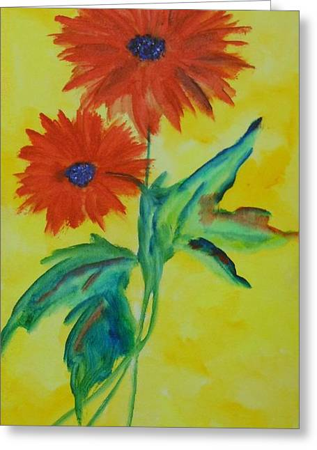 Label Greeting Cards - Flowers Greeting Card by Frederick Lyle Morris