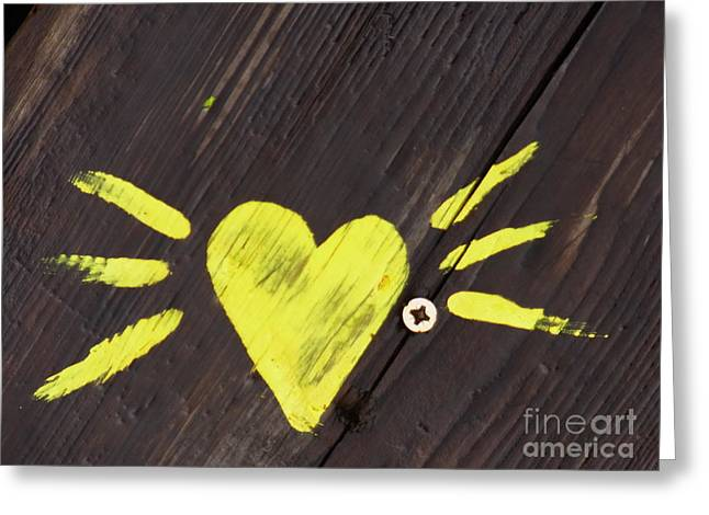 . Pvk Greeting Cards - Flying Heart Greeting Card by Agnieszka Ledwon