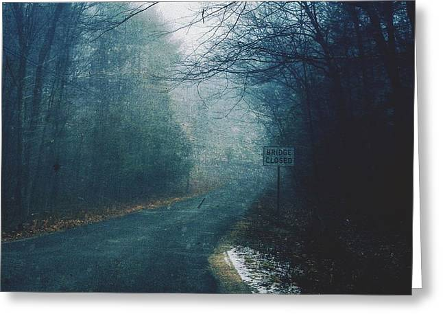 Fog  Greeting Card by HD Connelly