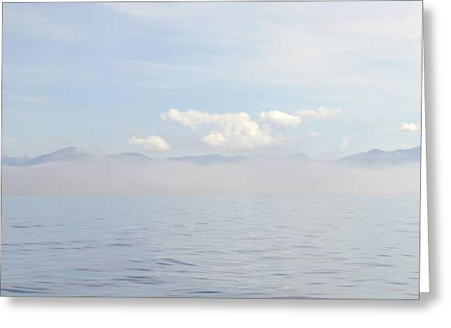 Chatham Greeting Cards - Fog in Chatham Sound Greeting Card by Lisa Hufnagel