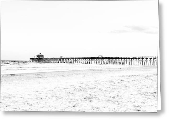 The South Photographs Greeting Cards - Folly Beach Greeting Card by Emily Enz
