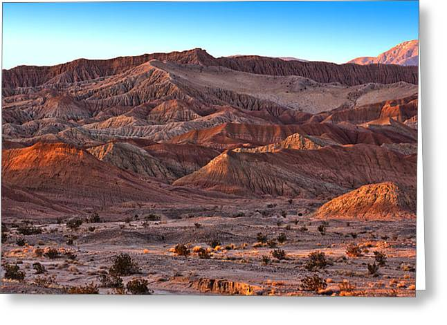 California Deserts Greeting Cards - Fonts Point Greeting Card by Peter Tellone