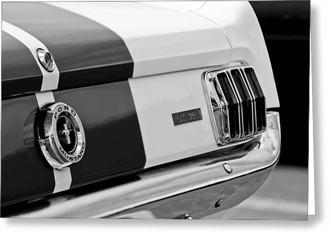 Gt-350 Greeting Cards - 1966 Ford Shelby Mustang GT 350 Taillight Greeting Card by Jill Reger