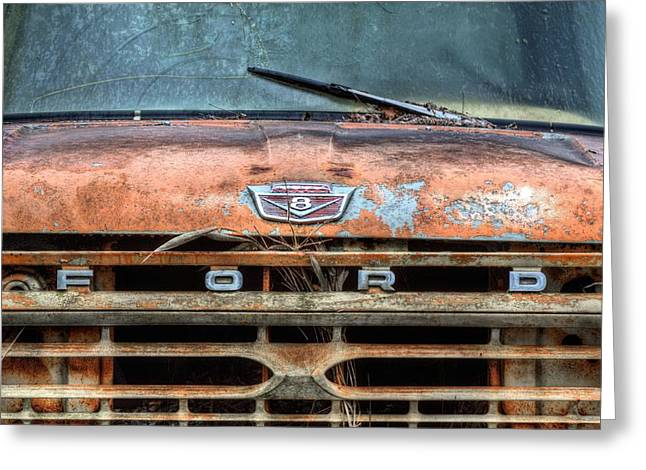 Workhorse Greeting Cards - Ford Tough Greeting Card by JC Findley